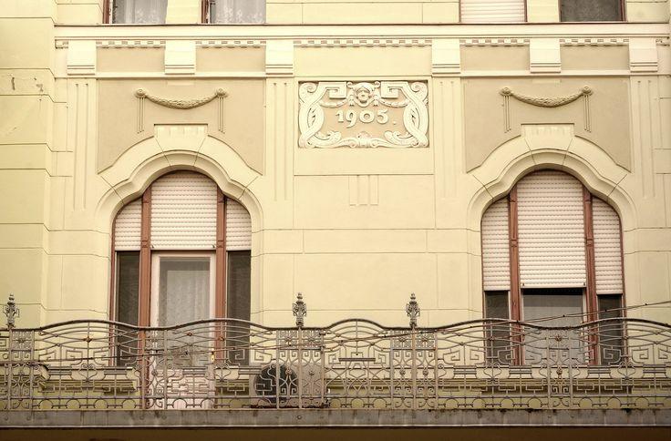 https://flic.kr/p/rf8JX6 | 1905 | Szeged, Wagner-palota (Wagner Palace) 1905, Baumhorn Lipót Art Nouveau style www.e-epites.hu/hirek/150-eve-szuletett-baumhorn-lipot-ep...