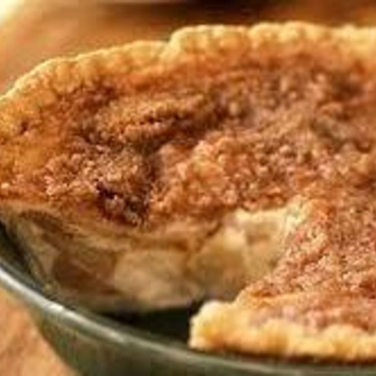 Apple Custard Pie | Pies, Tarts & Cobblers | Pinterest