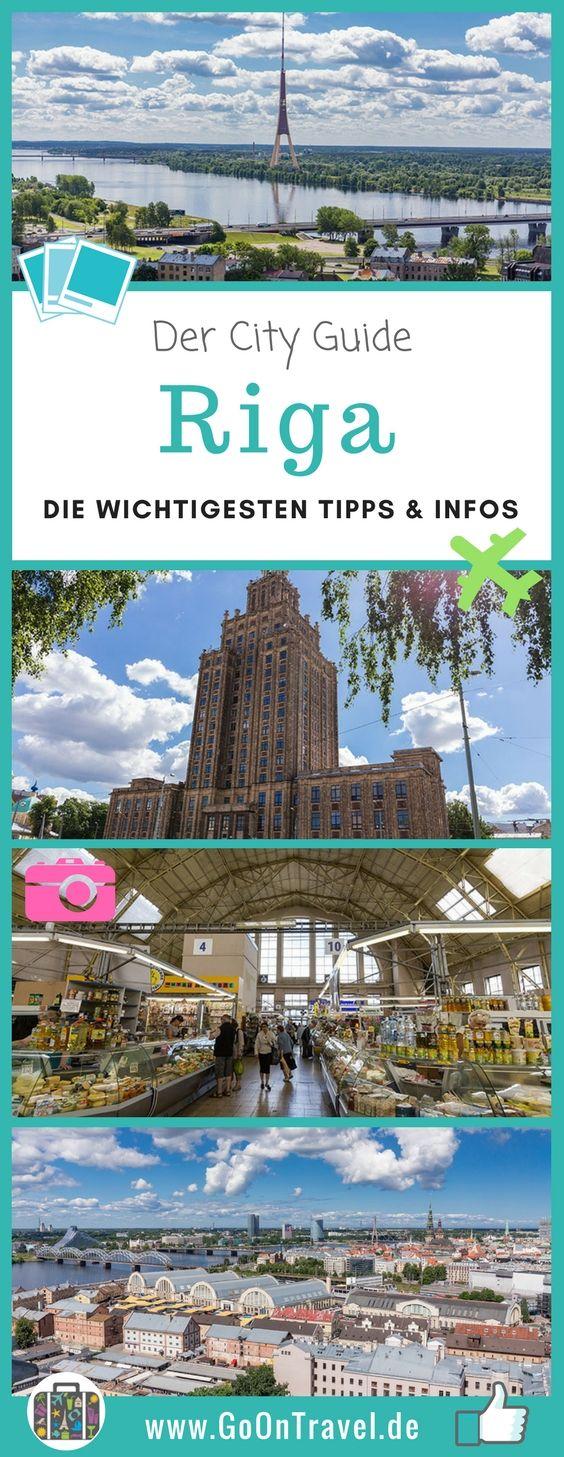 Riga eignet sich wunderbar für einen Kurztrip. Damit er auch gelingt und was du nicht verpassen solltest, erfährst du hier in den Riga Tipps.  #RigaTipps #Riga #Kurztrip #ZentralmarktRiga #AussichtspunkteRiga #Shopping
