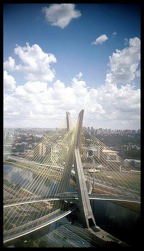 Morumbi Bridge, São Paulo, Brazil