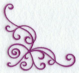 Simple Swirls Corner 3