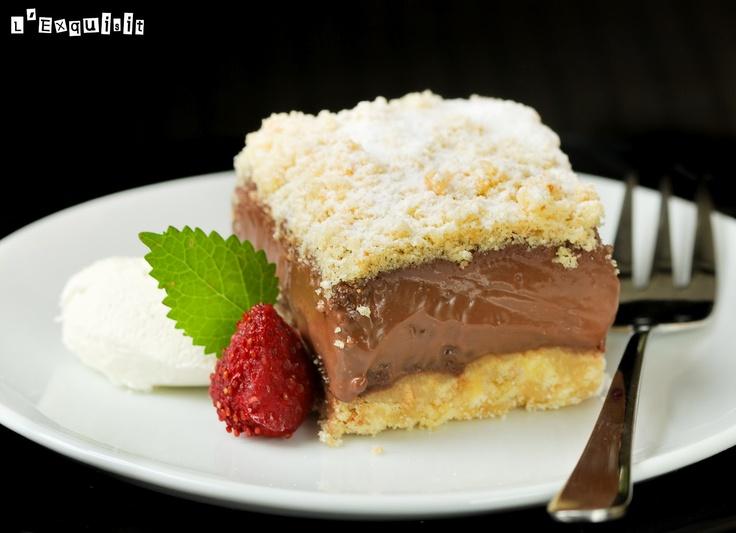 Tarta de chocolate {sin horno} | L'Exquisit