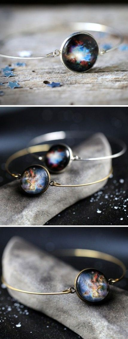 Galaxy Cuff Bracelets //