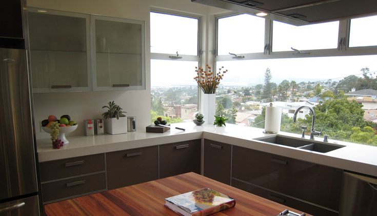 Modern, beautiful kitchen idea
