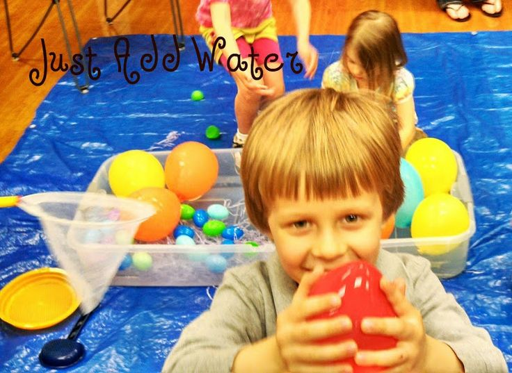 Messy Learning Lab: Just Add Water {Summer Sensory Activities for Toddler Party}