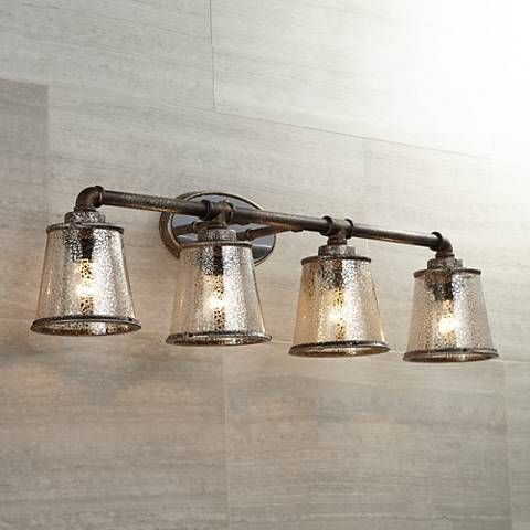 industrial bathroom lighting. Fillmore 31 3/4\ Industrial Bathroom Lighting