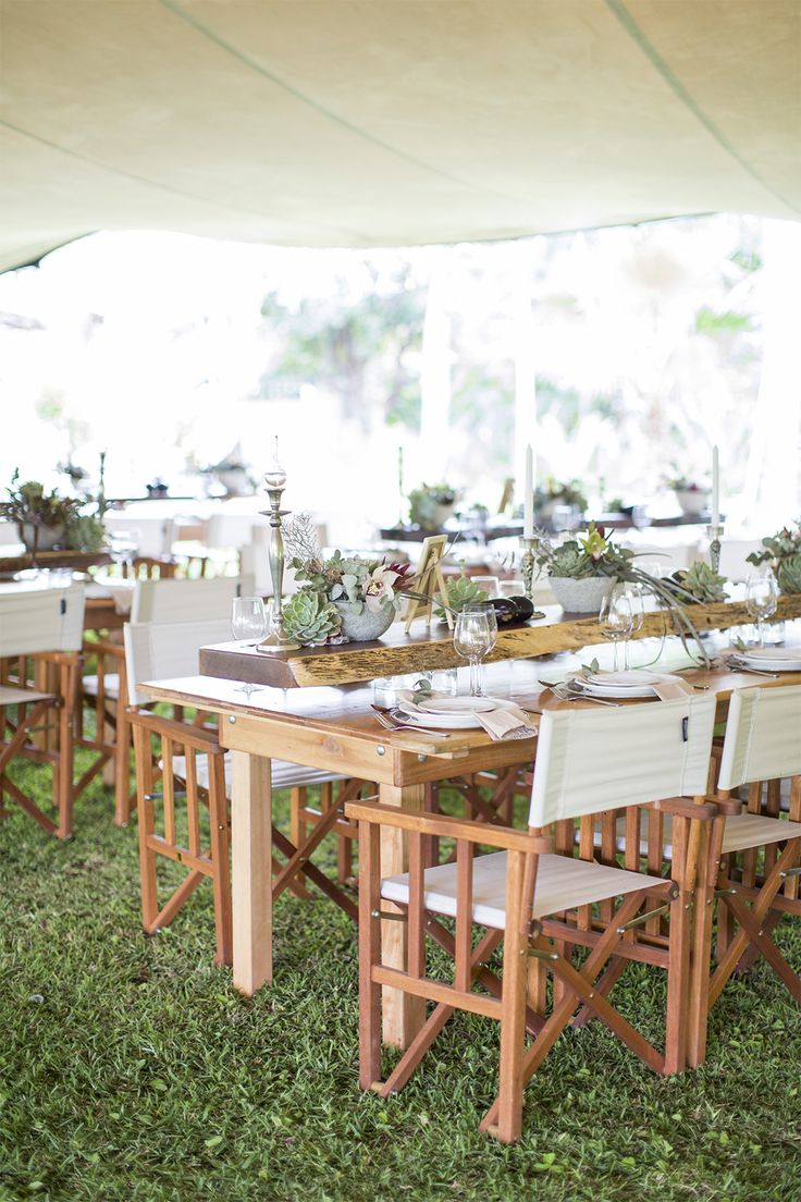 tent your reception