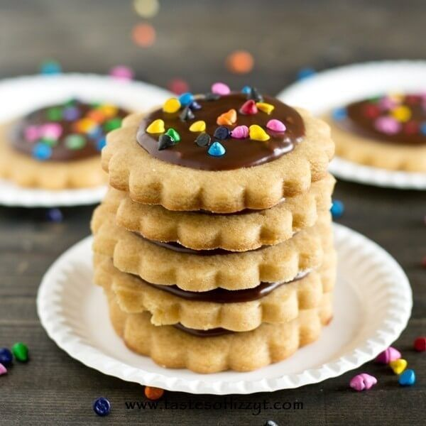 Peanut Butter Cut Out Cookies via @tastesoflizzyt