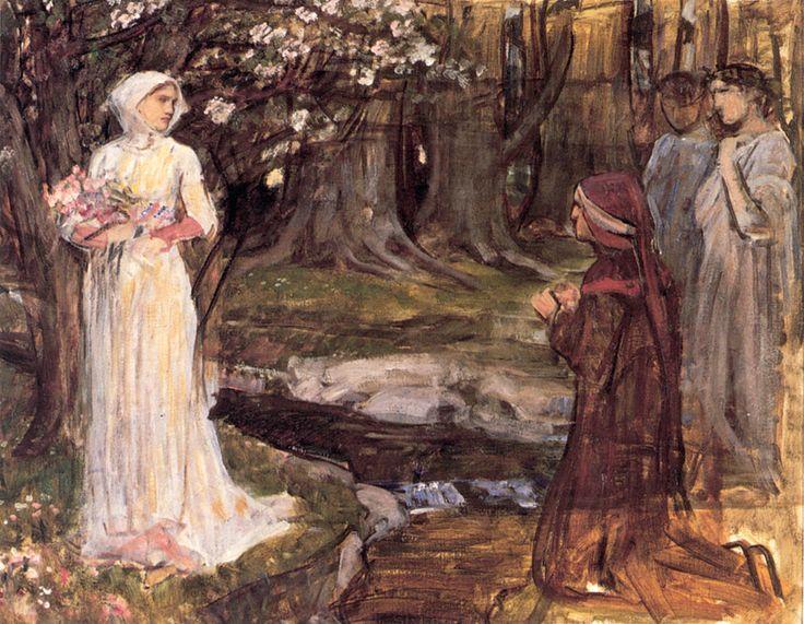 John William Waterhouse, Dante and Beatrice