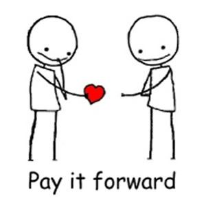 Image result for pay it forward graphics