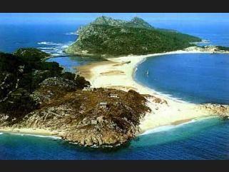 Parques Naturales de España islas cies (pontevedra)