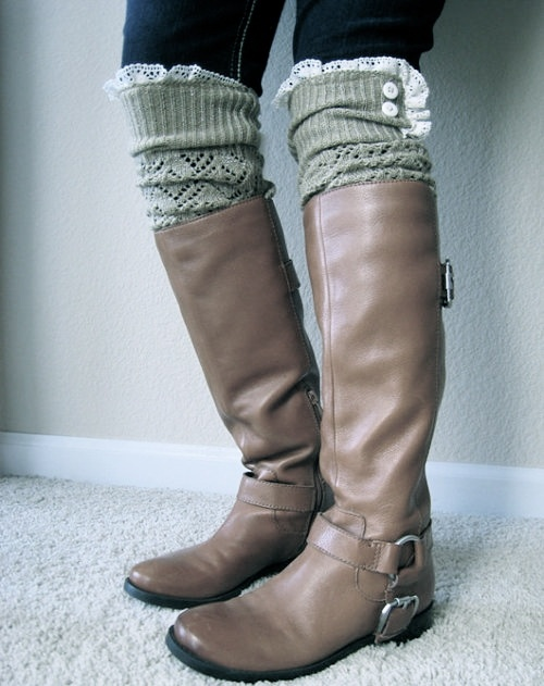 Love the leg warmers... but in a different color...