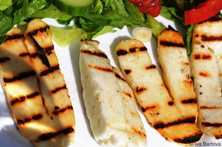 Cyprus grilled halloumi cheese. The national cheese of Cyprus has been around for centuries and it can be enjoyed in countless of ways.
