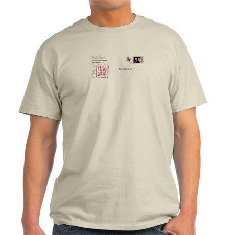 Webism Founder Ash Grey T-Shirt on CafePress.com