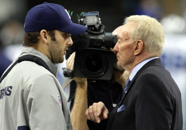 Jerry Jones honors promise, Cowboys release QB Tony Romo = It's officially official. Although it took several extra weeks, Dallas Cowboys owner Jerry Jones fulfilled his original promise and released quarterback Tony Romo on Tuesday. The Dallas Morning News reported Tuesday morning the Cowboys will designate Romo as a June 1 cut, which means his salary cap hit will be…..