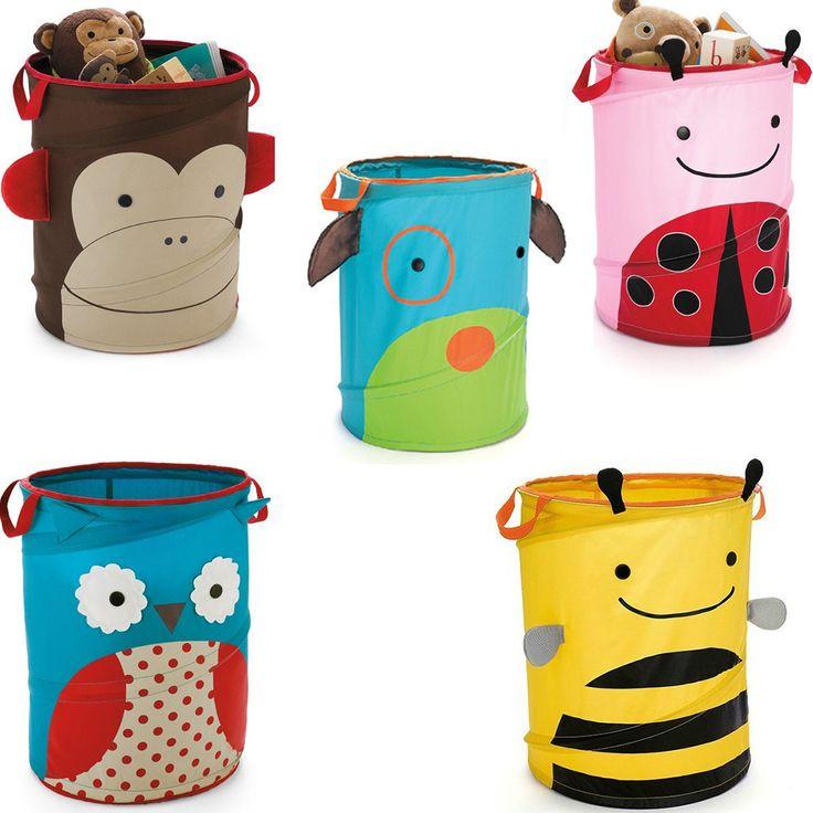 25 melhores ideias sobre armazenamento de bichos de - Cesta para guardar juguetes ...