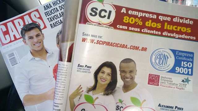 SCI Consumidor Inteligente - Negócios Online - Renda Extra: SCI na Revista Caras