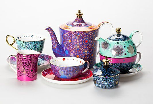 Would love to own anything from the Moroccan Tealeidoscope | T2 Tea collection