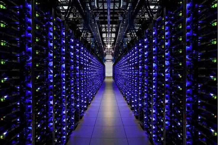 Los servidores del centro de datos en Georgia