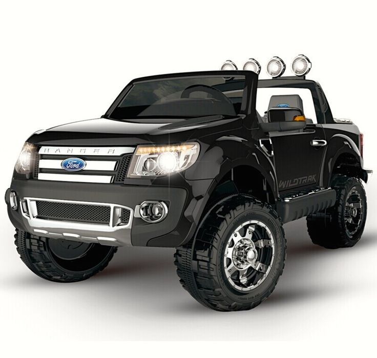 action ford ranger truck ute kids ride on car remote control black