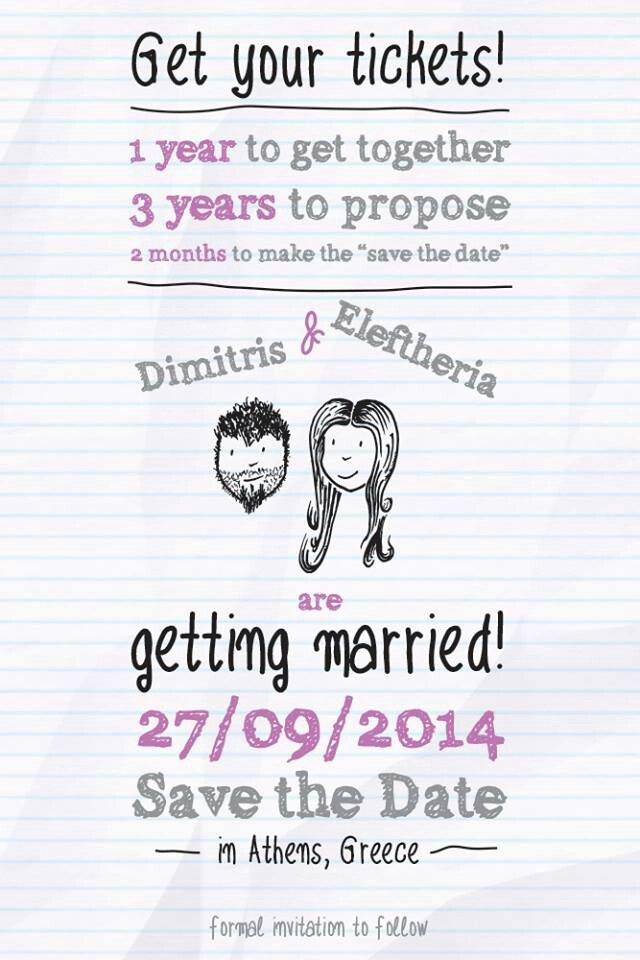 Save the date version 2