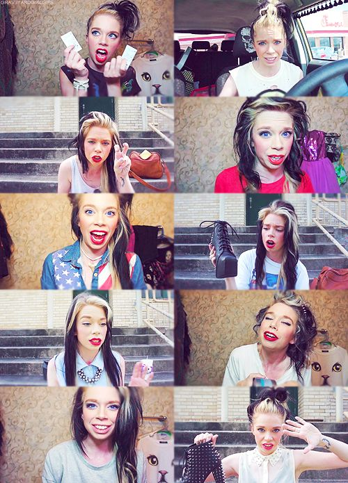 Pretty much my favorite beauty vlogger on YouTube. I love Bunny Meyer aka grav3yardgirl :) She is so hilarious and down to earth. What is earth? @.@