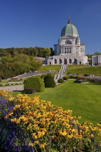 Saint Josephs Oratory Gardens Mount Royal - Photo & Travel Idea Canada