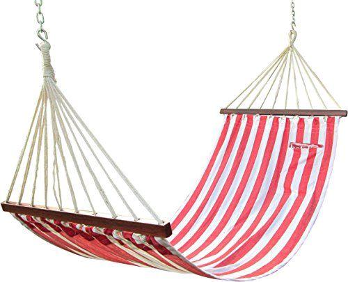 Hangit 11'FT Cotton Fabric Hammock Swing (Red Stripe) Hangit http://www.amazon.in/dp/B013QP7J22/ref=cm_sw_r_pi_dp_Uyw1vb1B34B1Q