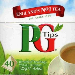 If you're going to drink english, its gotta be PG TIPS!!!!!!!! BEST