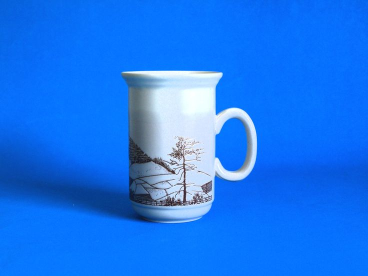 Churchill Lake District Mug - Vintage Peak District Derbyshire Yorkshire Dales Countryside Farm Scene - Made in England by FunkyKoala on Etsy