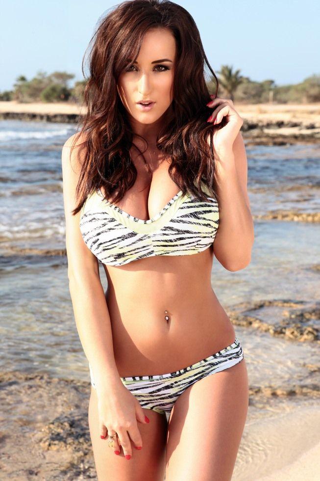 Bikini black stacey poole