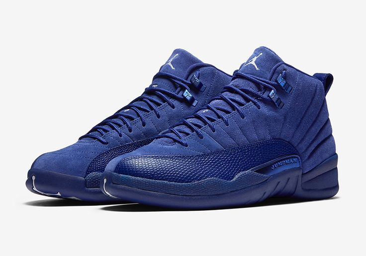 Official Images Of The Air Jordan 12 Deep Royal Blue