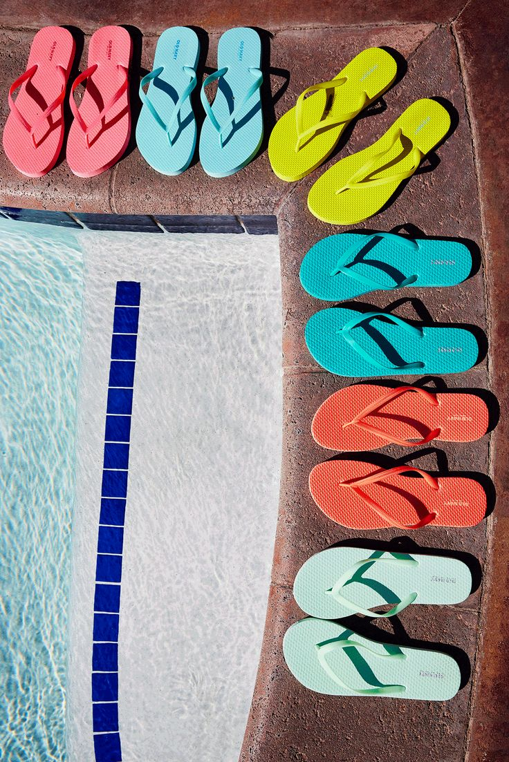 You can never have too many flip flops in your life. Treat your feet this summer and shop at Old Navy. You're sure to find your perfect pair - or six.