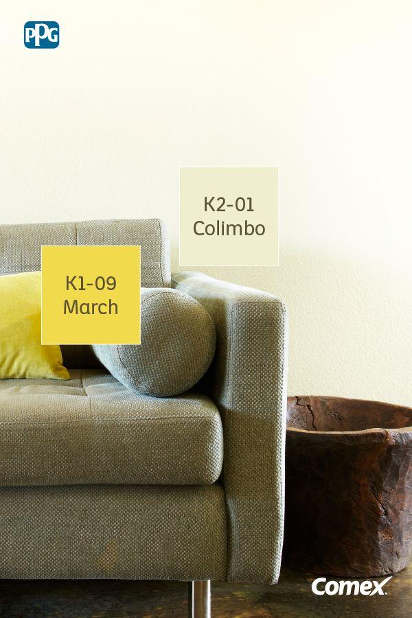 ¡El color amarillo es capaz de alegrarnos el día! Transmite calidez y permite que cualquier espacio parezca más íntimo y acogedor.  #ComexTips #Comex #ComexLATAM #Colorful #Amarillo #Decor #Colores #Ideas #Yellow #Inspiracion #Espacios #House #Inspiration
