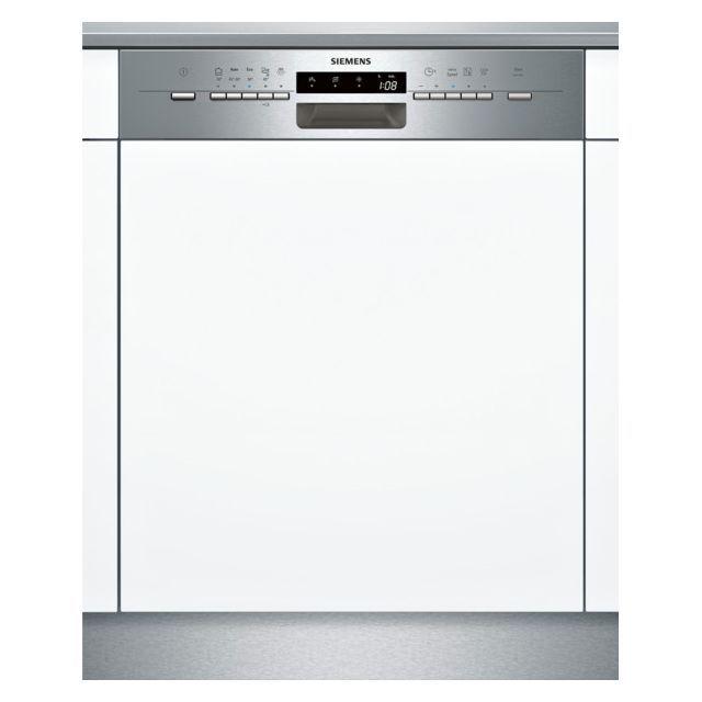 Siemens Lave Vaisselle 60cm 12 Couverts A Integrable Avec Bandeau Apparent Inox Sn55l502eu Mini Lave Vaisselle Encastrable Lave Vaisselle Et Lave Vaisselle Siemens