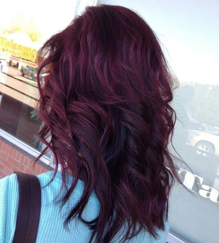 Love love my cherry coke with violet ombre