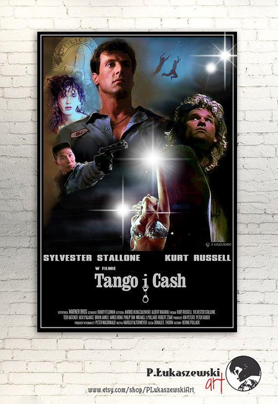 TANGO & CASH cult / classic alternative movie by PLukaszewskiArt