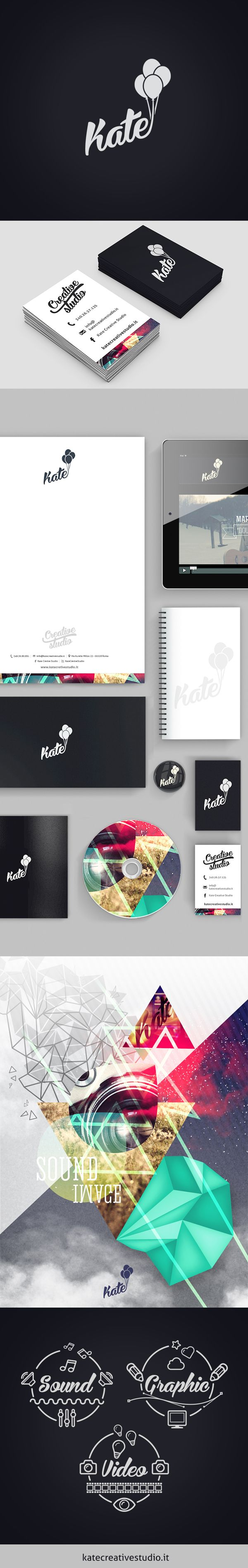 Kate Creative Studio by giorgia negro, via Behance