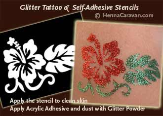 face painting/ airbrush tattoo stencils