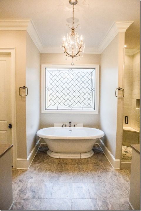 - Crown and base molding   - tile color Birmingham+Parade+of+Homes+2016+-+Harwell+Building+Company-+Unskinny+Boppy