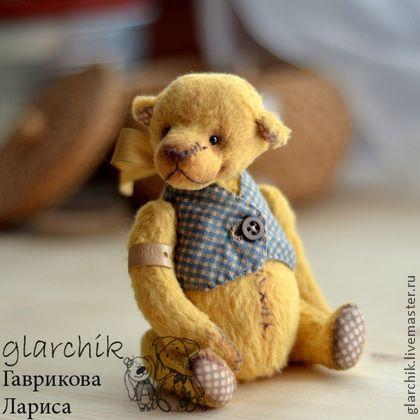 медведик Ханик - жёлтый,медовый цвет,мишка девочка,мишка тедди,медведь тедди