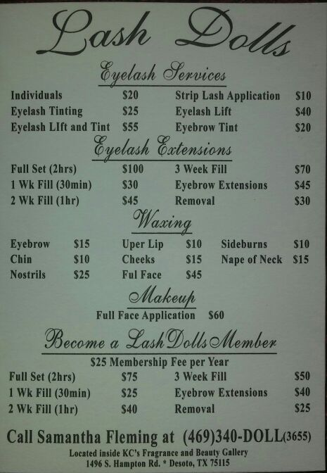 Eyelash Extensions And Beauty Services Lash Dolls