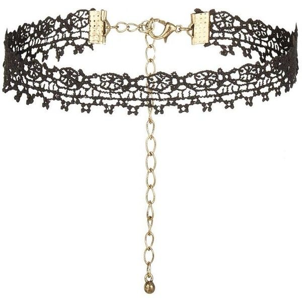 Black Lace Choker ($5.64) ❤ liked on Polyvore featuring jewelry, necklaces, lace necklace, lace choker, lace jewelry, choker necklace and choker jewelry