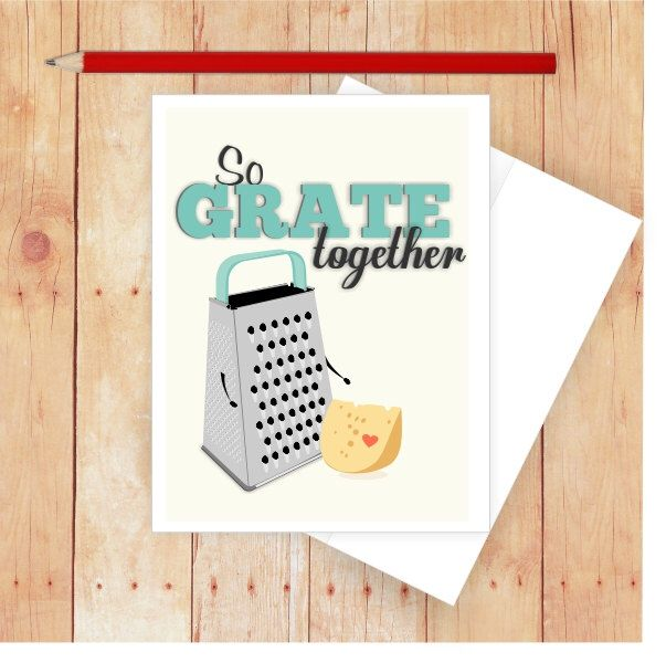 Funny Love Card, Funny Wedding Card, Love Card for Him, Love Card for Her, Funny  Anniversary Card, Funny Engagement Card, Cheese Grater by CallMeArtsy on Etsy https://www.etsy.com/listing/198058249/funny-love-card-funny-wedding-card-love