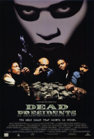 Seriously slept on great flick!!   Dead Presidents Masterprint