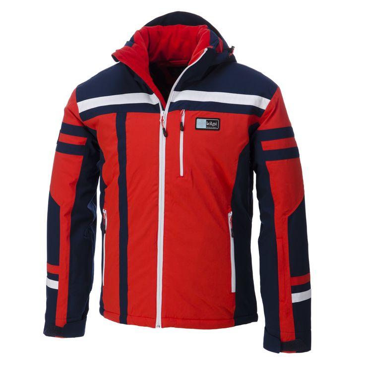 Kilpi, Titan, jack, heren, rood (Ski kleding heren)