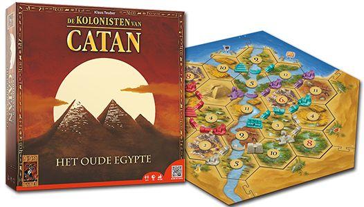 De Kolonisten van Catan Het Oude Egypte.