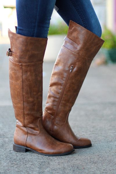 High Rider Boots {Tan} | The Fair Lady Boutique