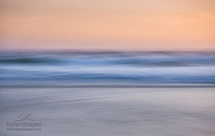 Intentional camera movement - sedgefield beach garden route south africa