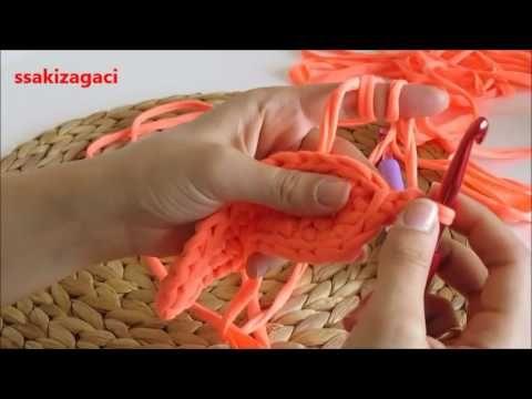 Penye ip ile oval taban yapımı ve püf noktaları - YouTube